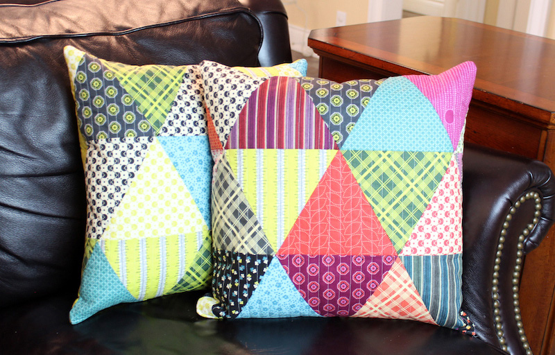 Лоскутное шитье мастер класс подушки